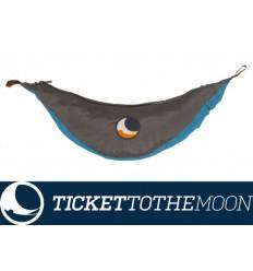 Hamac Ticket to the Moon King Size Aqua Dark Grey 320 × 230 cm, 700 grame