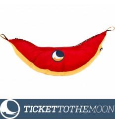 Hamac Ticket to the Moon King Size Dark Yellow 320 × 230 cm, 700 grame Burgundy 320 × 230 cm, 700 grame