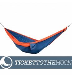 Hamac pentru copii Ticket To The Moon Mini Blue-Orange, 150 × 100 cm, 200 grame