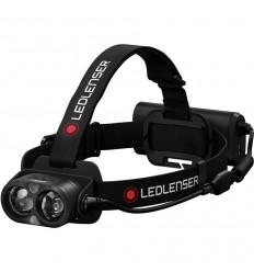 Lanterna frontala reincarcabila USB 3500 lumeni Led Lenser H19R Core neagra