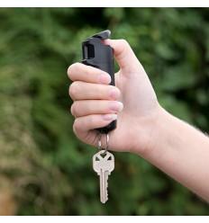 Spray autoaparare cu piper tip breloc Sabre Black, 15 grame