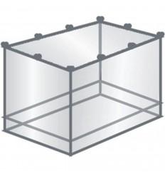 Plasa tantari TravelSafe TS0103, forma rectangulara, 220x105x200cm, alb
