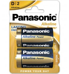 Baterie alcalina R20 tip D Panasonic Alkaline Power 1,5V set 2 buc