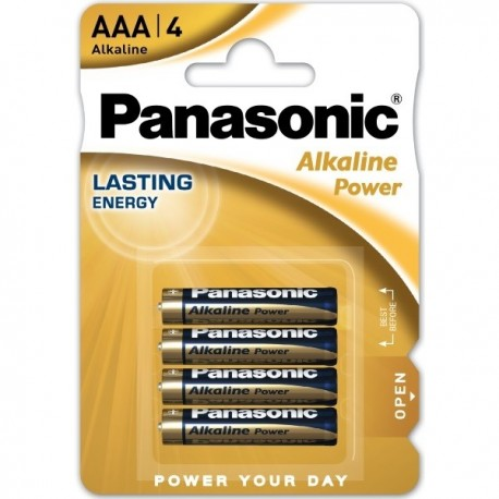 Baterie alcalina R3 / AAA Panasonic Alkaline Power 1,5V set 4 buc