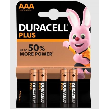 Baterie alcalina Duracell R3 / AAA 1.5V MN2400 set 4 buc