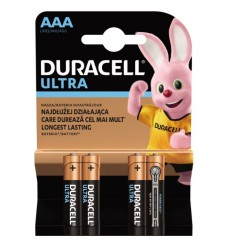 Baterii alcaline R6 / AA Duracell ULTRA 1,5 V set 4 buc