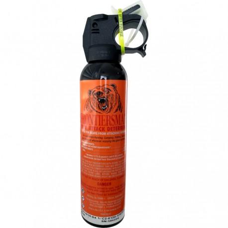 Spray autoaparare impotriva ursilor Sabre Frontiersman, raza actiune 10,6 metri, 260 grame