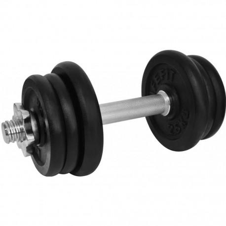 Gantera 13 kg set 6 discuri