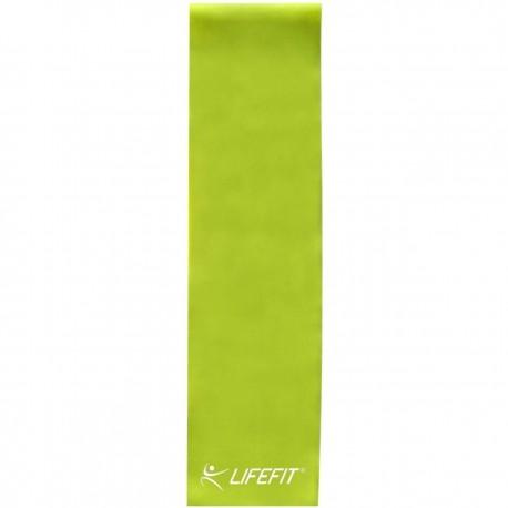 Banda elastica fitness Flexband 120 x 15 cm, grosime 0.55 mm