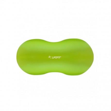 Minge gimnastica tip aluna 90x45 cm verde