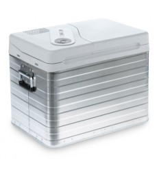 Lada frigorifica din aluminiu, volum 39 litri, Mobicool Q40 AC/DC 12 V / 230 V