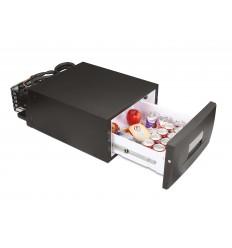 Frigider Dometic CD 30 CoolMatic Frigider cu sertar negru, volum 30 litri, alimentare 12 V / 24 V