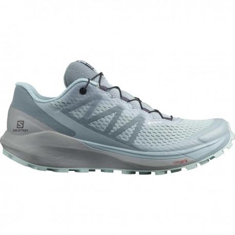 Pantofi alergare femei Salomon SENSE RIDE 4 INVISIBLE W GTX Gri