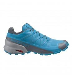 Pantofi alergare barbati Salomon SPEEDCROSS 5 Albastru