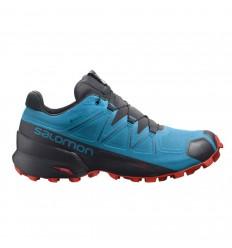 Pantofi alergare barbati Salomon SPEEDCROSS 5 GTX Albastru
