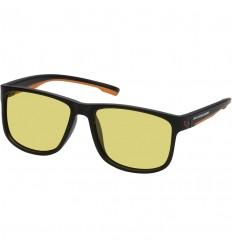 Ochelari de soare polarizati Savage Gear lentila galbena, cu toc rigid