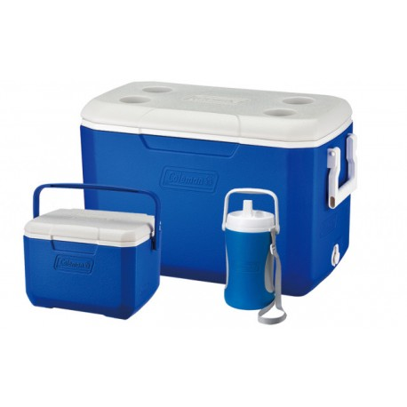 Set 2 lazi frigorifice 45.7 litri si 4.6 litri si bidon 2 litri Coleman