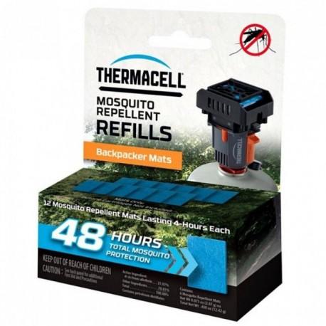 Rezerve Thermacell Backpacker, set 12 buc, protectie  48 h