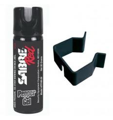 Spray autoaparare piper gel Sabre, 61.5 grame, cu suport