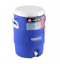 Recipient termoizolant Igloo Seat Top cu suport pahare, volum 19 litri