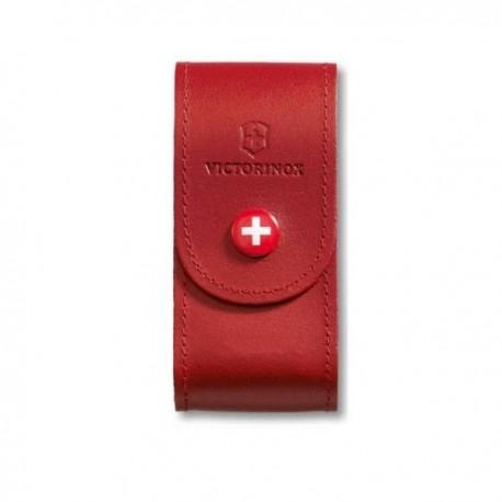 Teaca Victorinox rosie din piele