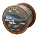 Fir crap 045MM 15,3KG 600M River Mono Camo Pro Logic