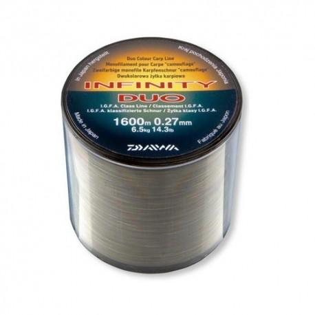 Fir crap 0,27mm 6,5KG 1670M Daiwa Infinity Duo Camo