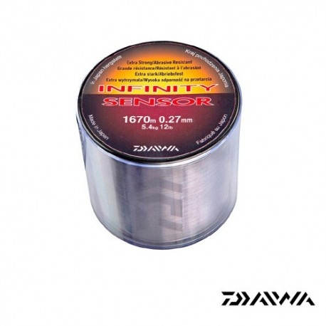 Fir crap 0,27 mm 5,4KG 1670M Daiwa Infinity Sensor