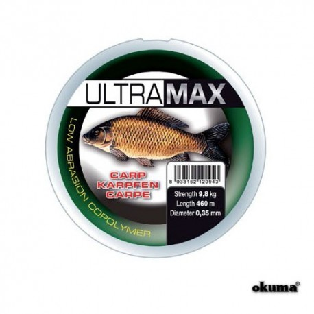 Fir crap 035MM 9,8KG 500M Okuma Ultra Max Carp