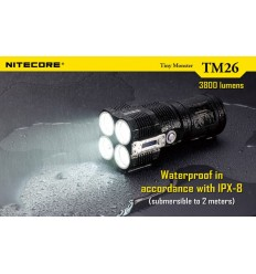 Lanterna LED reincarcabila Nitecore TM26 3800 lumeni