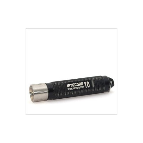 Lanterna LED Nitecore T0 neagra 12 lumeni 1 x AAA