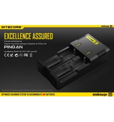 Incarcator Nitecore Intellicharge i2