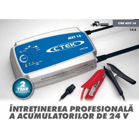 Incarcator acumulatori automat 24V / 14A CTEK MXT14